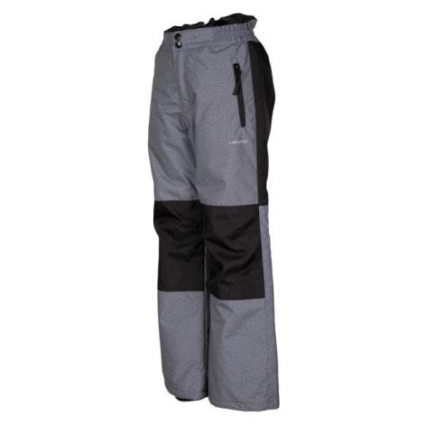 Lewro NADAL šedá - Detské lyžiarske nohavice