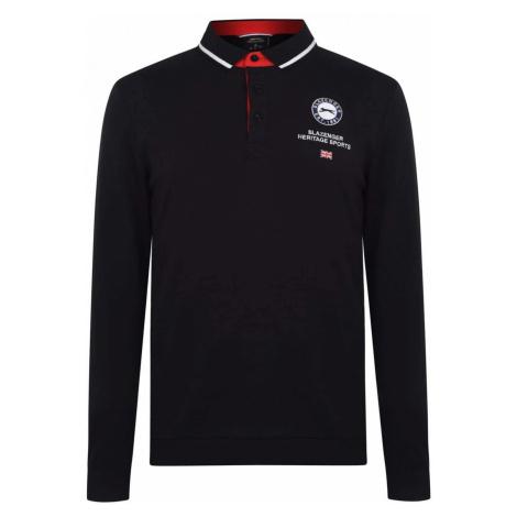 Slazenger Long Sleeve Sport Polo Shirt Mens