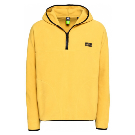 QUIKSILVER Športový sveter  horčicová / čierna