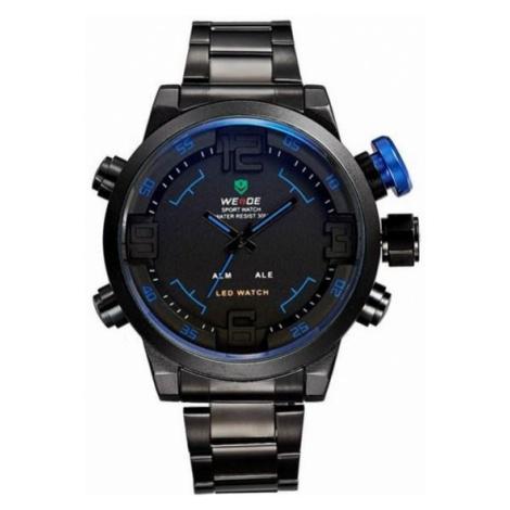 Pánske športové hodinky WE LED + darčekový box