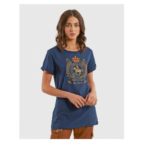 Tričko La Martina Woman Co Jersey T-Shirt