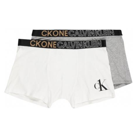 Calvin Klein Underwear Nohavičky  biela / sivá / čierna / svetlobéžová