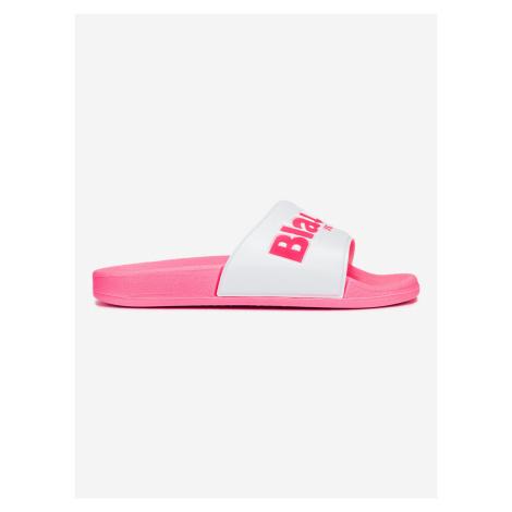 Pantofle Blauer Růžová