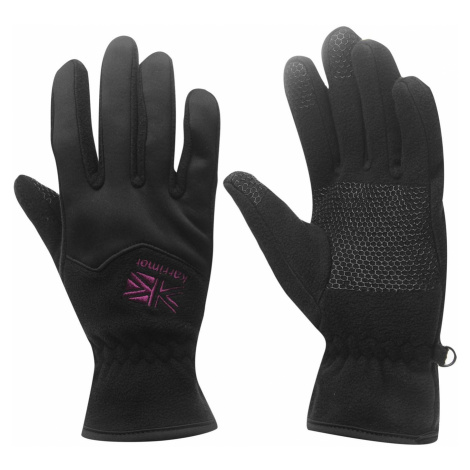 Karrimor Fleece Gloves dámske Black