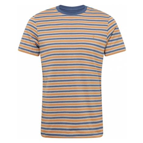 FARAH Tričko 'ALGINET'  oranžová / modrá / biela