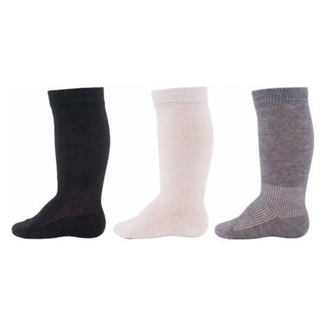 EWERS Ponožky  sivá / námornícka modrá / biela