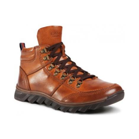 Šnurovacia obuv Lanetti MBS-RJUKA-02 Imitácia kože/-Imitácia kože