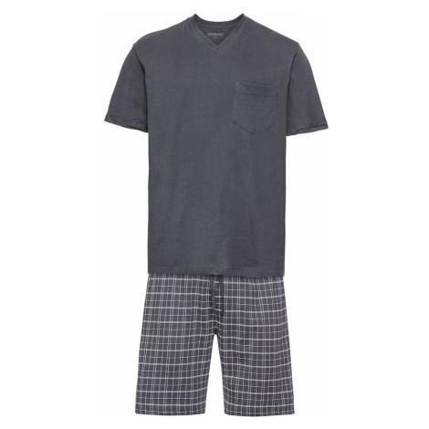SCHIESSER Krátke pyžamo  antracitová