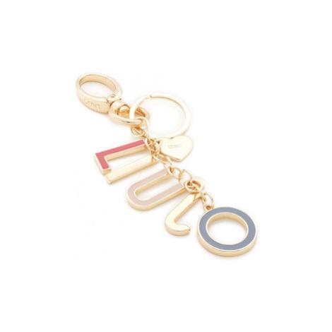 Liu Jo Prívesok Keyring Logo Letteri N69220 A0001 Zlatá
