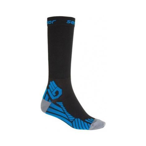 Ponožky Sensor Compress čierna 15100128