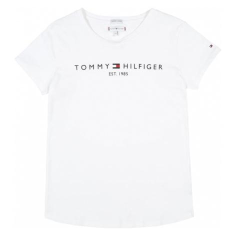 TOMMY HILFIGER Tričko  biela