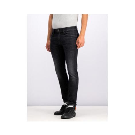Diesel Slim fit džínsy 00SXU8 0890E Čierna Skinny Fit