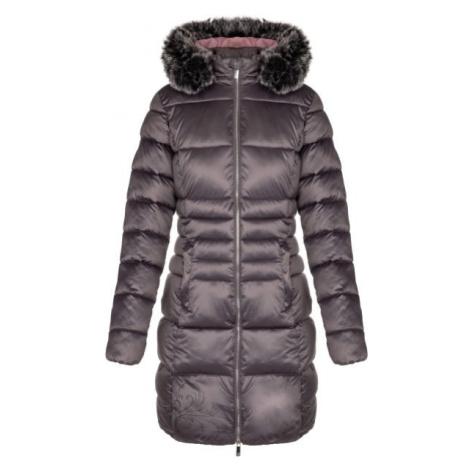 Loap TANIA tmavo šedá - Dámsky zimný kabát