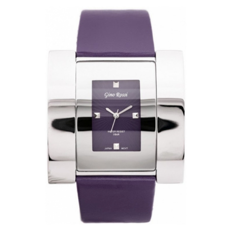 Fialové dámske hodinky Gino Rossi 6454A-7G1