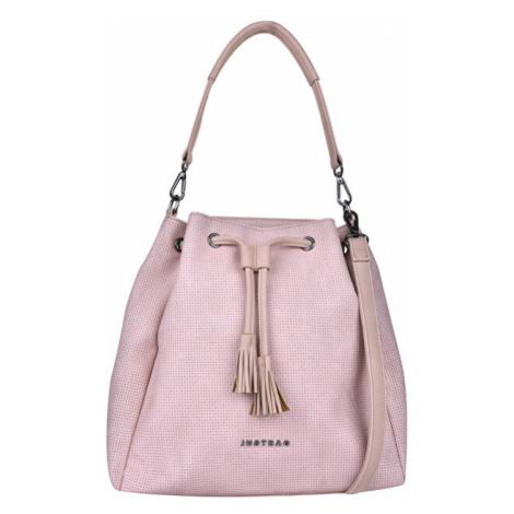JustBag Dámska kabelka YF1905-947 Pink