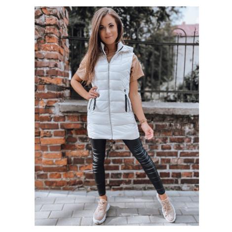 Women's vest KORA white Dstreet TY2225