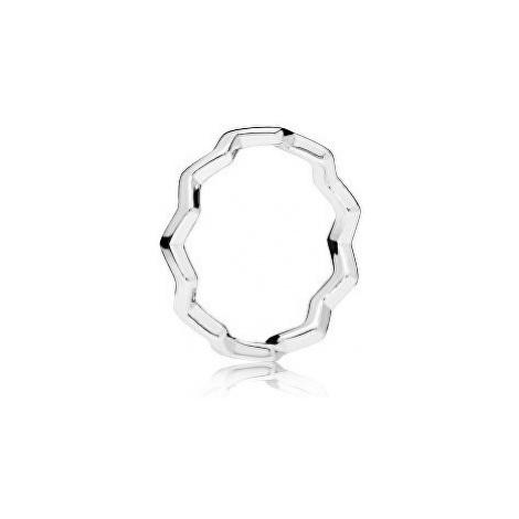 Pandora Štýlový strieborný prsteň 56 mm