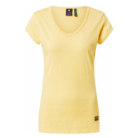 G-Star RAW Tričko 'Core Eyben'  žltá