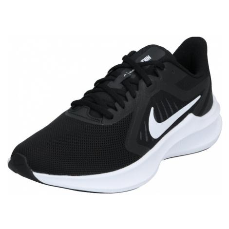 NIKE Bežecká obuv 'Downshifter'  čierna / biela