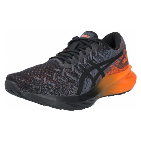 ASICS Športová obuv 'DYNABLAST'  čierna / sivá / oranžová