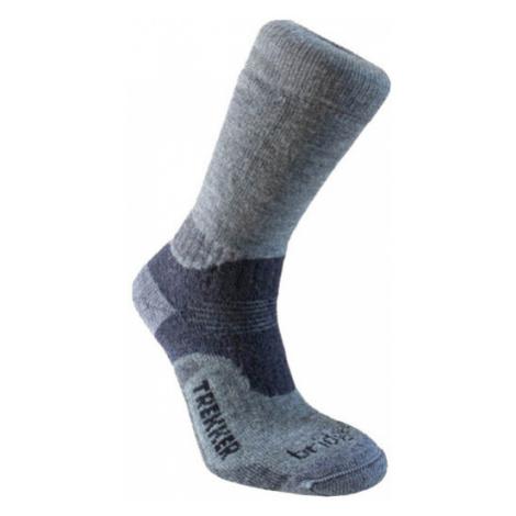 Sada ponožiek Bridgedale Trekker 21st Year Twinpack Women's ML silver/black/852