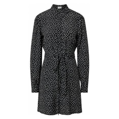 Pimkie Košeľové šaty 'D-OCHEM'  čierna / biela