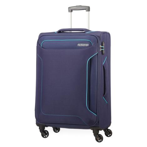 American Tourister Cestovný kufor Holiday Heat Spinner 66 l - tmavě modrá