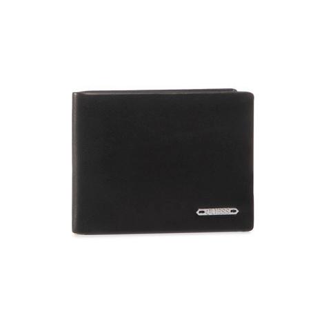 Guess Veľká pánska peňaženka Tyler Slg SM2661 LEA20 Čierna