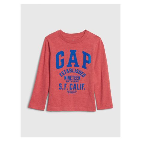 GAP červené chlapčenské tričko