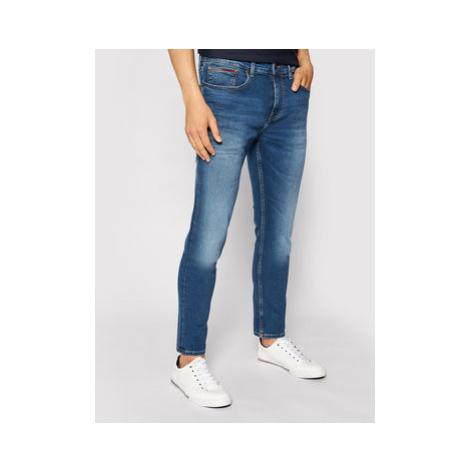 Tommy Jeans Džínsy Austin DM0DM09550 Modrá Slim Fit Tommy Hilfiger