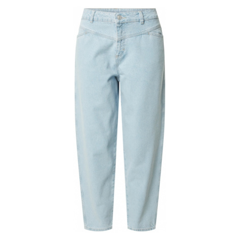 Noisy may Džínsy 'NMJUNE NW RELAXED TAPERED ANKLE JEANS BG'  modrá