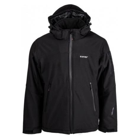 Hi-Tec GIKO čierna - Pánska softshellová bunda