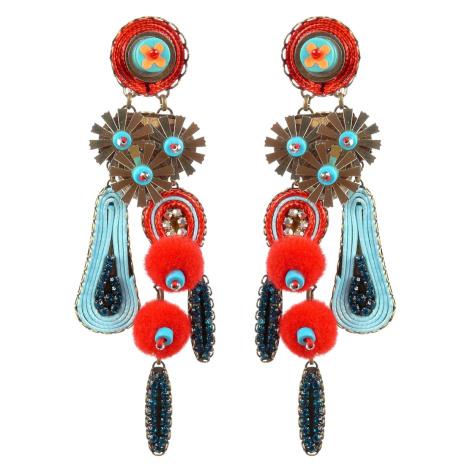 Tatami Woman's Clip Earrings E-Wo004R