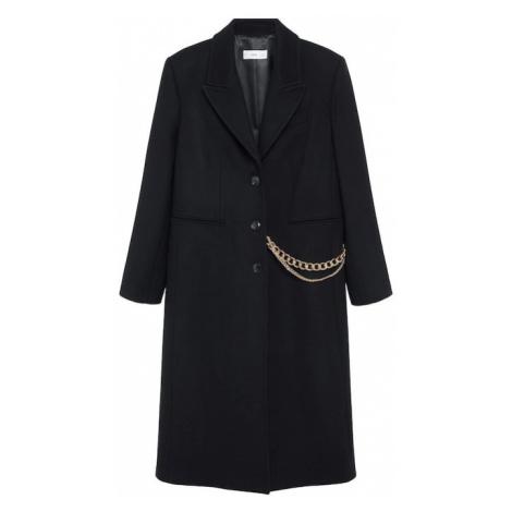 MANGO Zimný kabát 'Dandy'  čierna