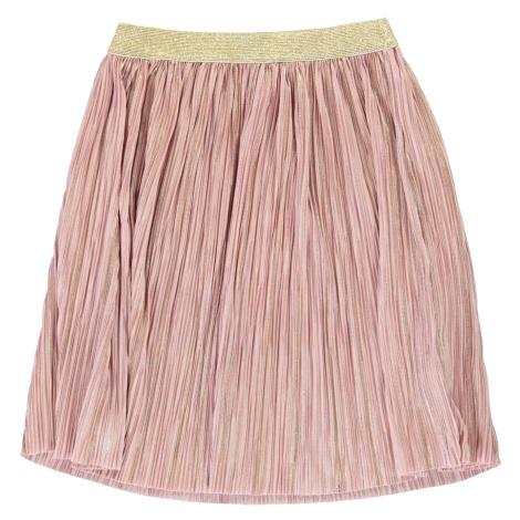 Rose and Wilde Plisse Metallic Skirt Girls