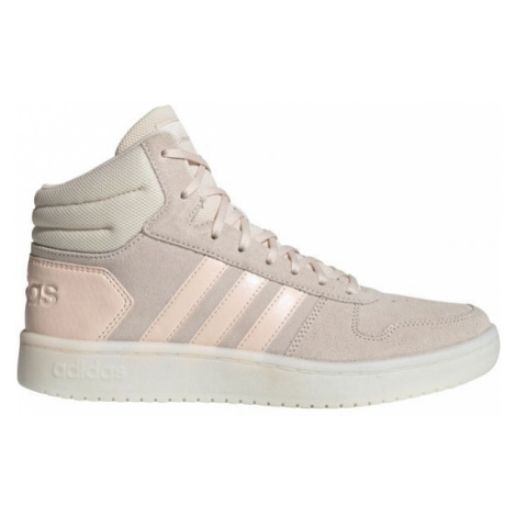 adidas HOOPS 2.0 MID W biela - Dámska vychádzková obuv