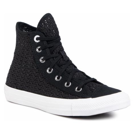 Tenisky CONVERSE - Ctas Hi 567655C Black/White/White