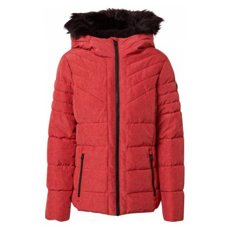 EDC BY ESPRIT Zimná bunda  červená / čierna