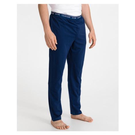 Calvin Klein Nohavice na spanie Modrá