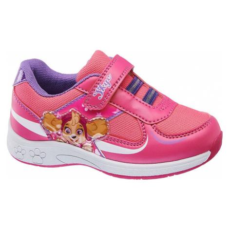 Paw Patrol - Ružové tenisky na suchý zips Labková patrola