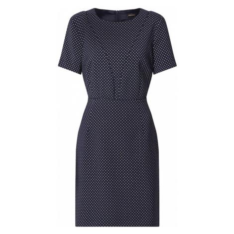 MORE & MORE Puzdrové šaty  námornícka modrá / biela