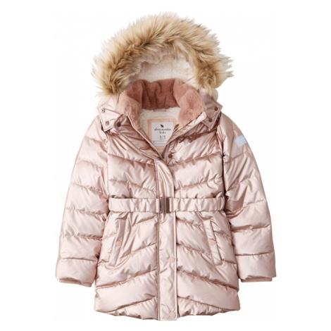 Abercrombie & Fitch Zimná bunda 'ADVENTURE'  ružová