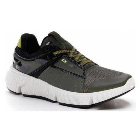 Lotto BREEZE LOGO tmavo zelená - Pánska voľnočasová obuv