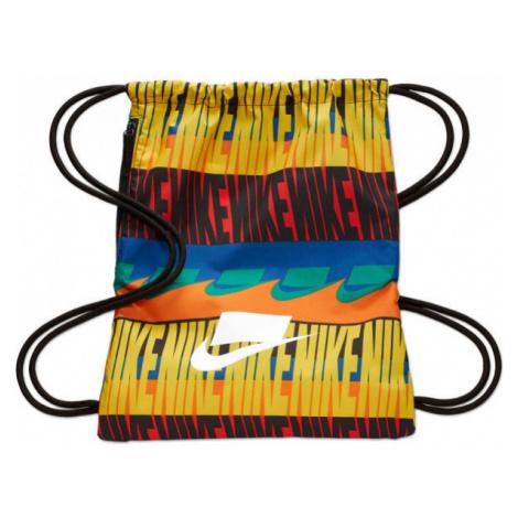 Nike HERITAGE GMSK - 2.0 AOP žltá - Gymsack