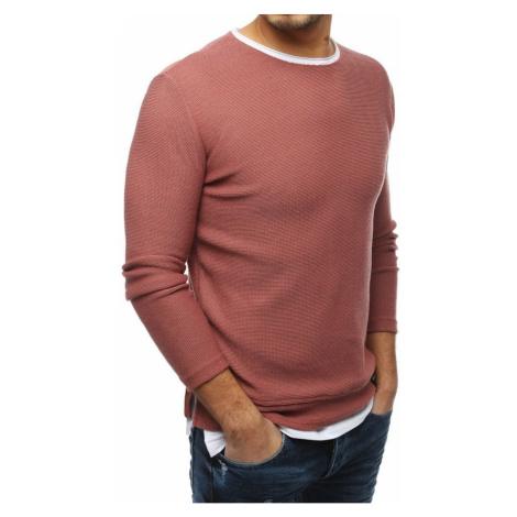 Men's pink sweater WX1453 DStreet