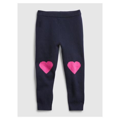 Modré dievčenské nohavice GAP