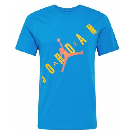 Jordan Tričko  kráľovská modrá / žltá / oranžová