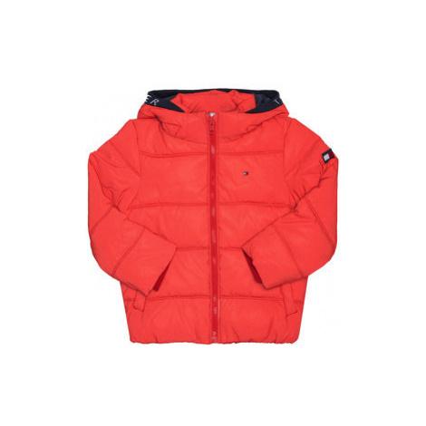 Tommy Hilfiger Vatovaná bunda Padded Reflective KB0KB05883 M Oranžová Regular Fit