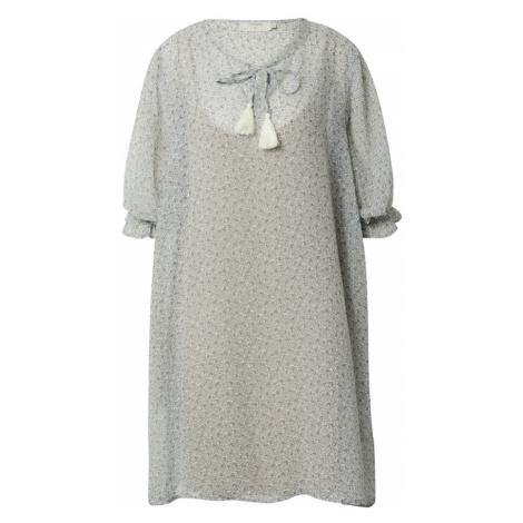Cream Šaty 'Kinia'  modrá / svetlomodrá