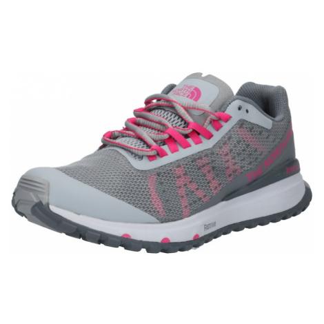 THE NORTH FACE Športová obuv  ružová / sivá melírovaná / svetlosivá